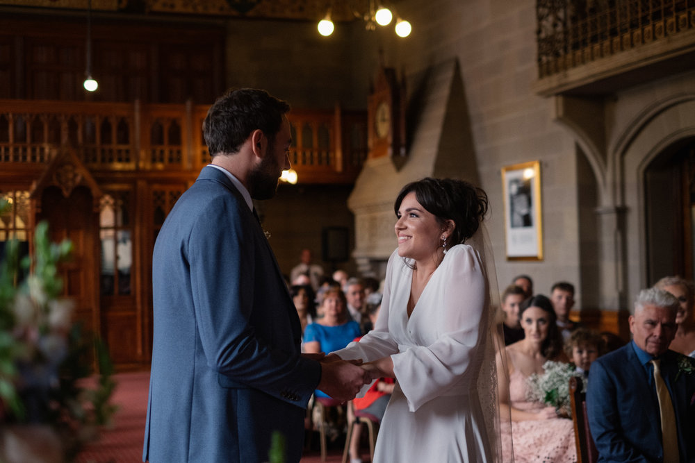 Esther and Sean Manchester town hall wedding
