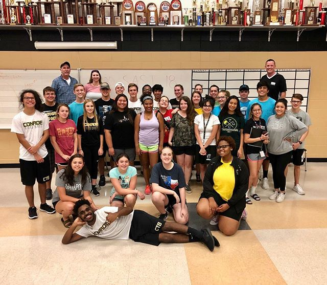 Conroe HS Leadership Camp! That's a wrap!!! Best of luck on your fall season!!! #SASI18 #ignite #leadership #inspire #people #empower #progress #cultivate #positivity