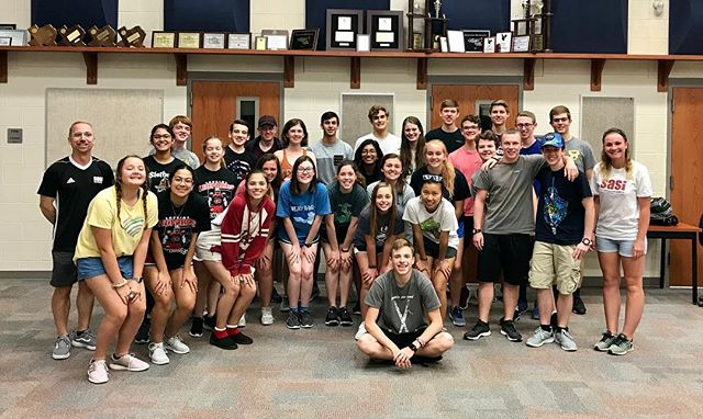 Incredible leadership camp at Lovejoy High School!!! SASI18 #ignite #leadership #inspire #people #empower #progress #cultivate #positivity