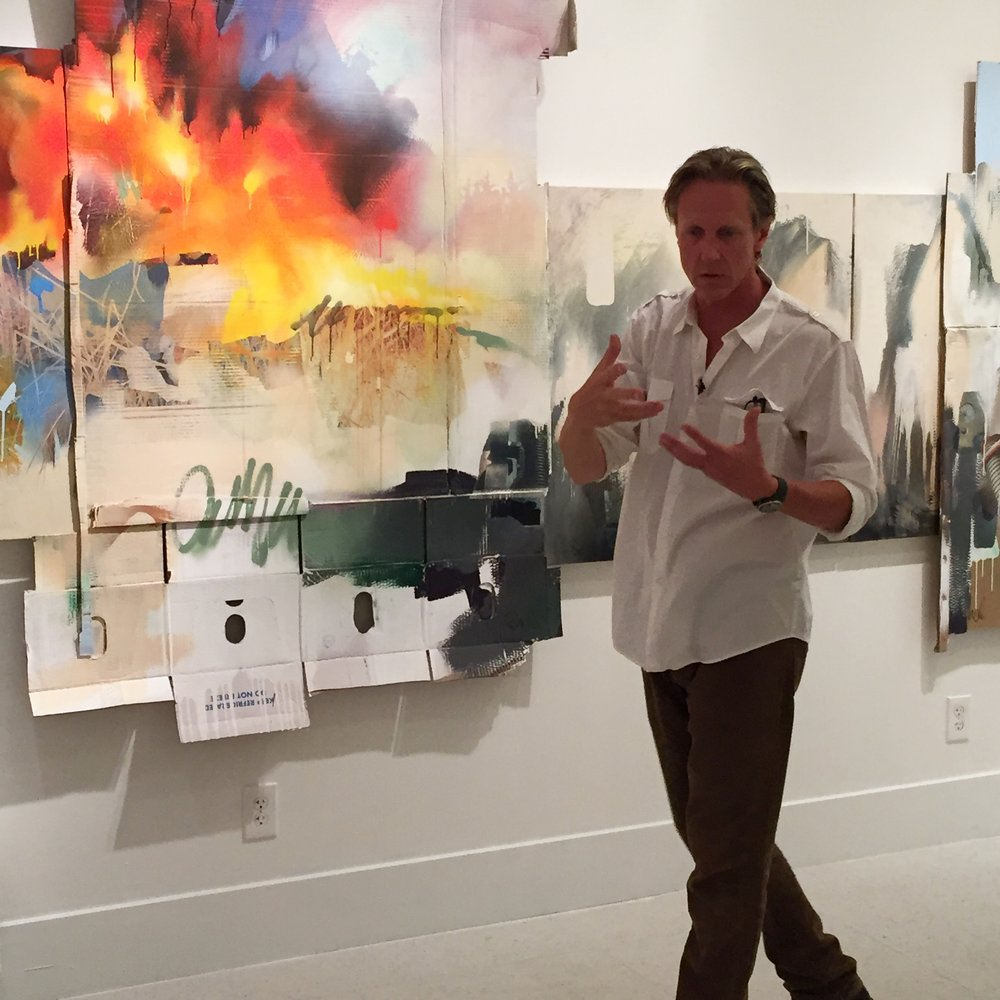 Jeff Snell, Artist Talk: Our Changing Landscape
