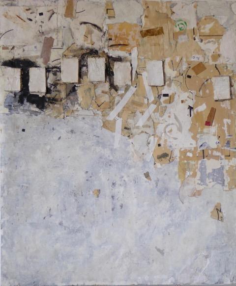 The Unwritten,   mixed media on panel, 30x36, 2018 $2700