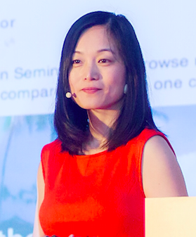 Yu Dan Shi. Executive Coach. Fortune 100 Exec. Strength Psychology Expert. Mother.