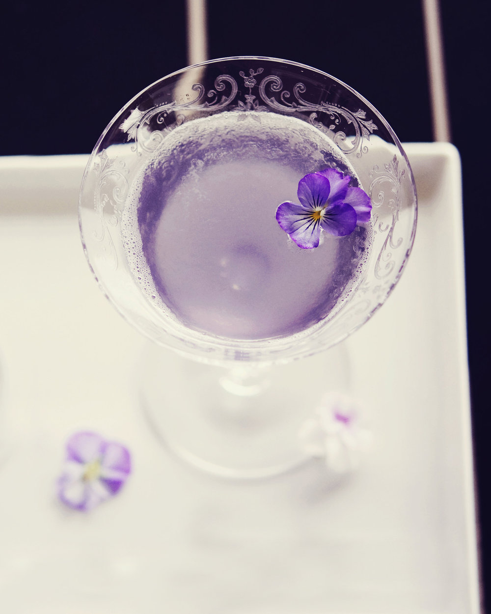 VIOLETTE FEMME   fresh pressed lemon, simple syrup, violette liqueur, vodka