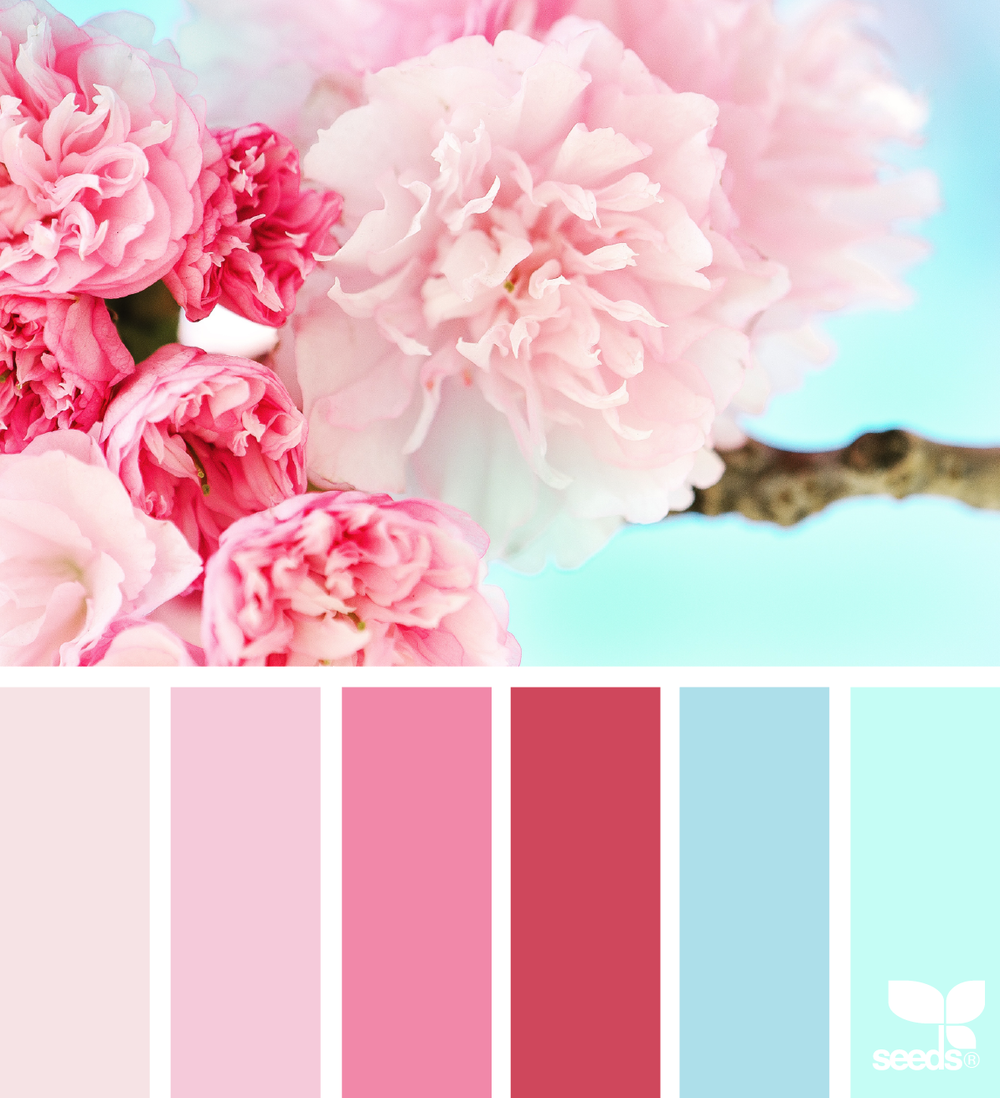 If Youu0027re A Fan Of Millennial Pink And The Rest Of The Classic Spring Colors,  This Is A Perfect Palette For You! Imagine The Goregeous Floral  Arrangements ...