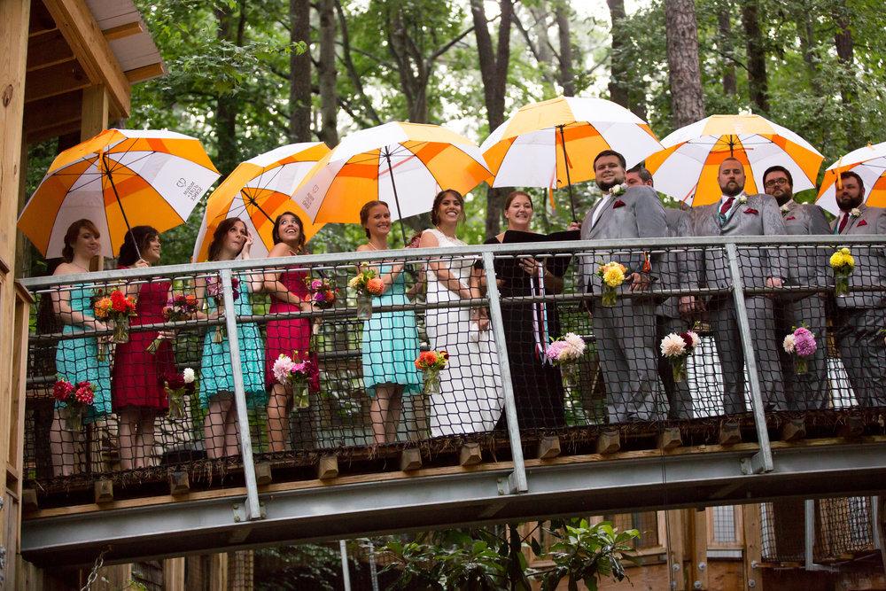 Treehouse wedding!