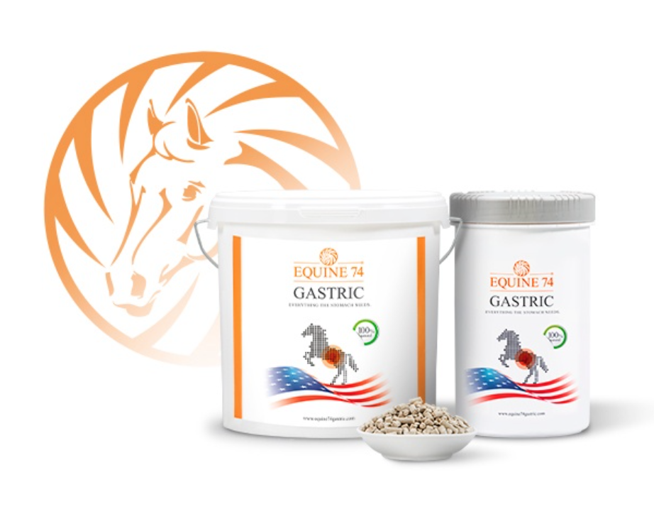 EQUINE 74 GASTRIC   With a maintanance dosage of just 50 grams of Equine 74 Gastric per day. As an    Omeprazole alternative for horses   ,Equine 74 Gastric acts as an acid buffer by absorbing the excess acid caused by various stress factors, therefore ensuring a balanced and proper PH level within the horses stomach.