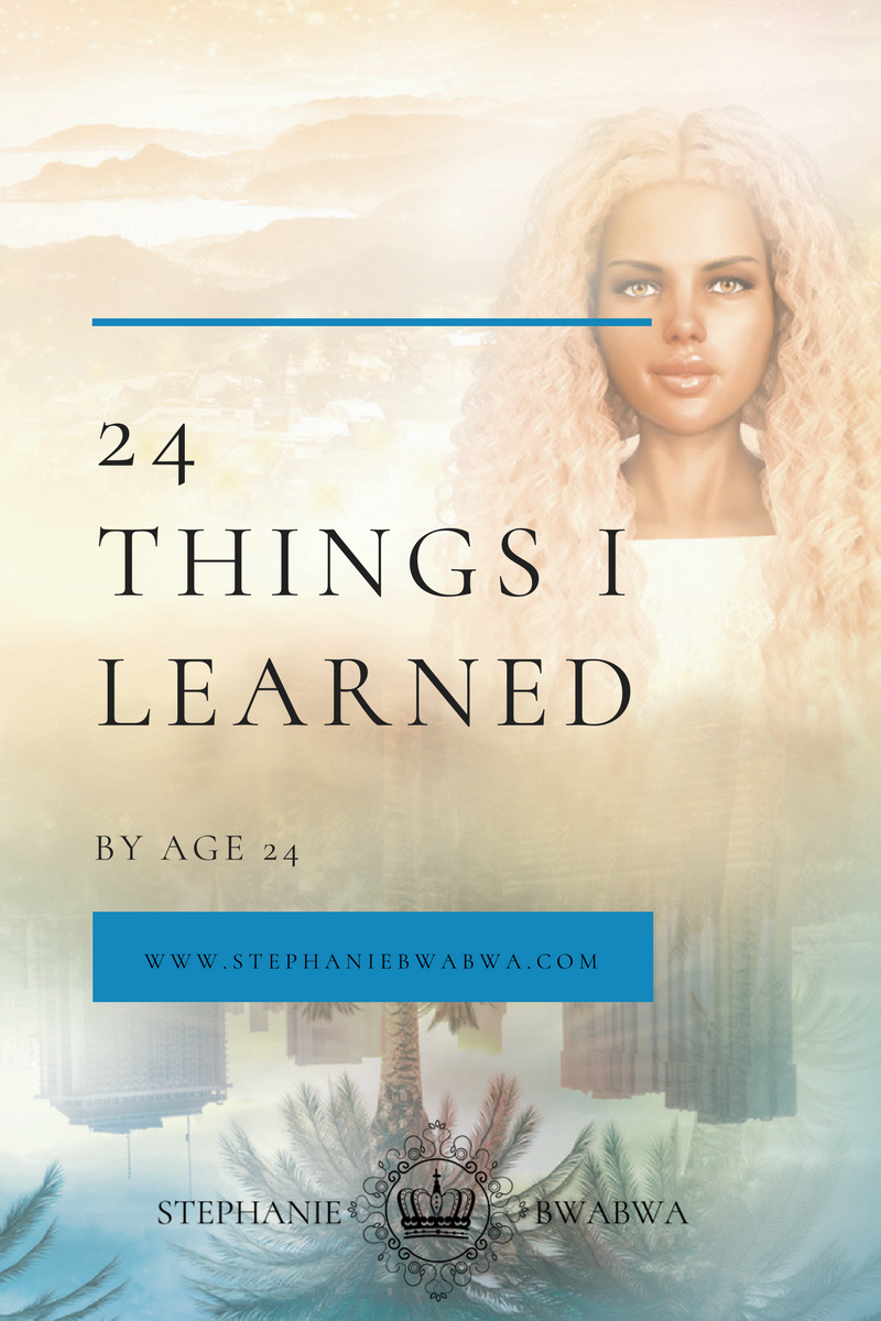 There are 24 significant things I learned by my 24th birthday. Click through for them all and freebies from my books. >>