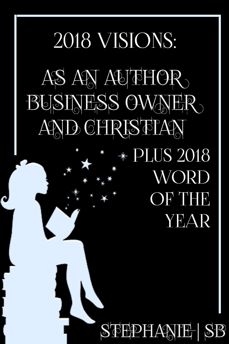 Learn my 2018 goals as an author, business owner, and Christian + my word of the year and gain inspiration for your journey as a writer. Click through and get a FREE novel writing blueprint. | www.stephaniebwabwa.com/blog