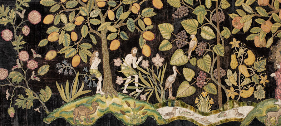 Adam and Eve in the Garden of Eden, Tapestry