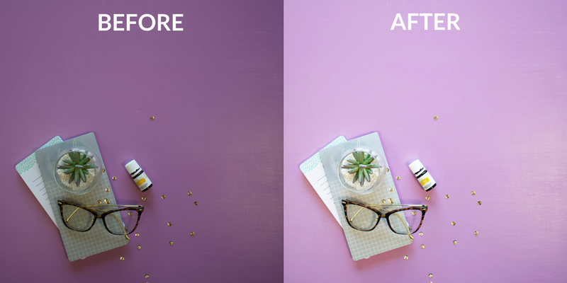 How to Take and Edit Branded Flat Lay Images | How to use PicTapGo to edit all your images in 30 seconds or less | Lady and Company Creative | Branding Coach | Empowering Women Through Badass Brands