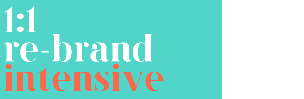 rebrand intensive | re-brand | lady and company | one on one coaching