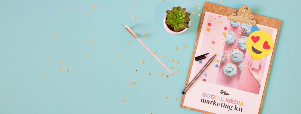 Social Media Marketing Kit | Lady and Company | How to schedule a week of social media content in 30 minutes