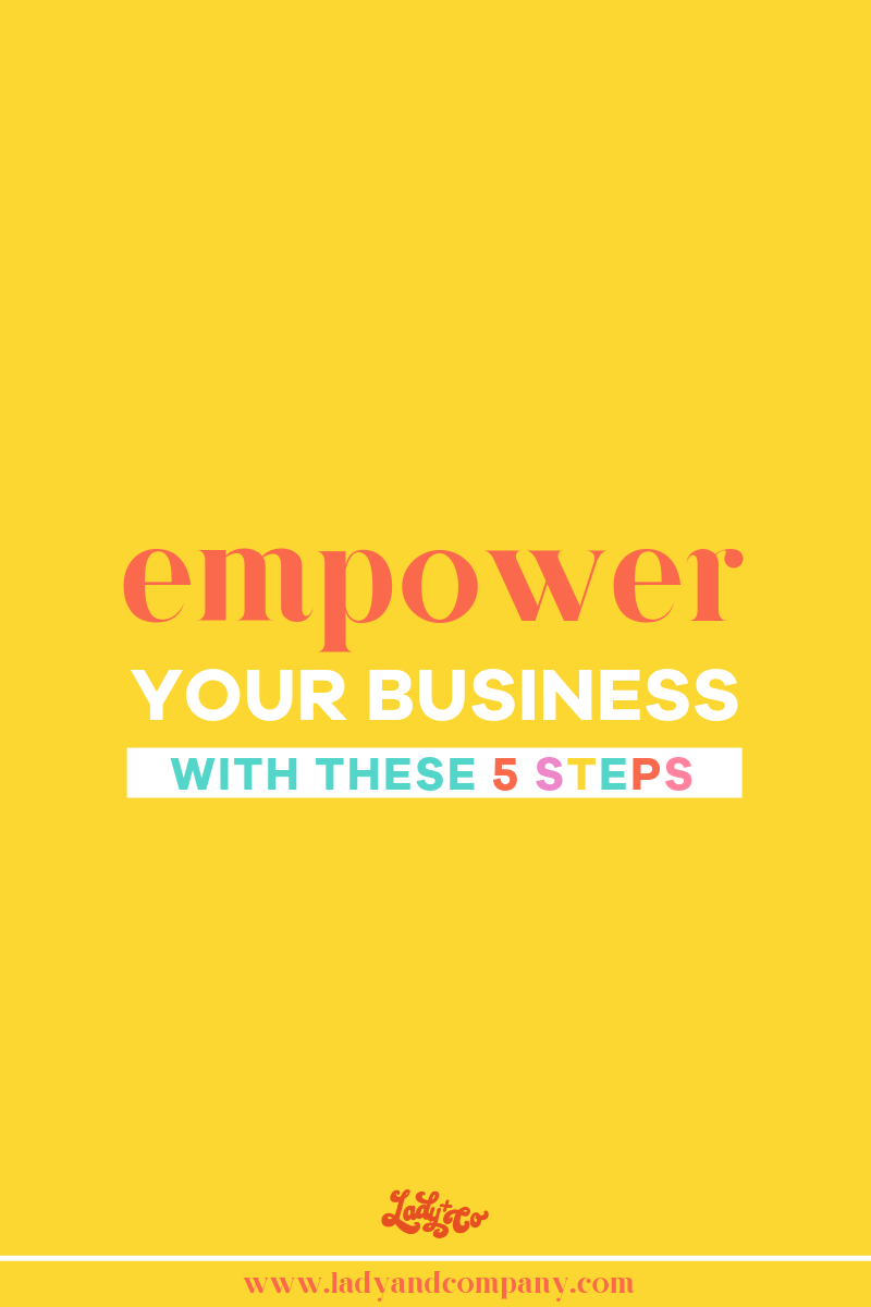 """It takes a lot of work and motivation to be a successful entrepreneur and run a flourishing online business. The trick to overcoming those """"off"""" days is to learn effective hacks to empower your business. Whether you're an online shop owner, blogger, digital marker, business coach, or other professional, here are five tips to empower your business. Read this blog for the full details. 