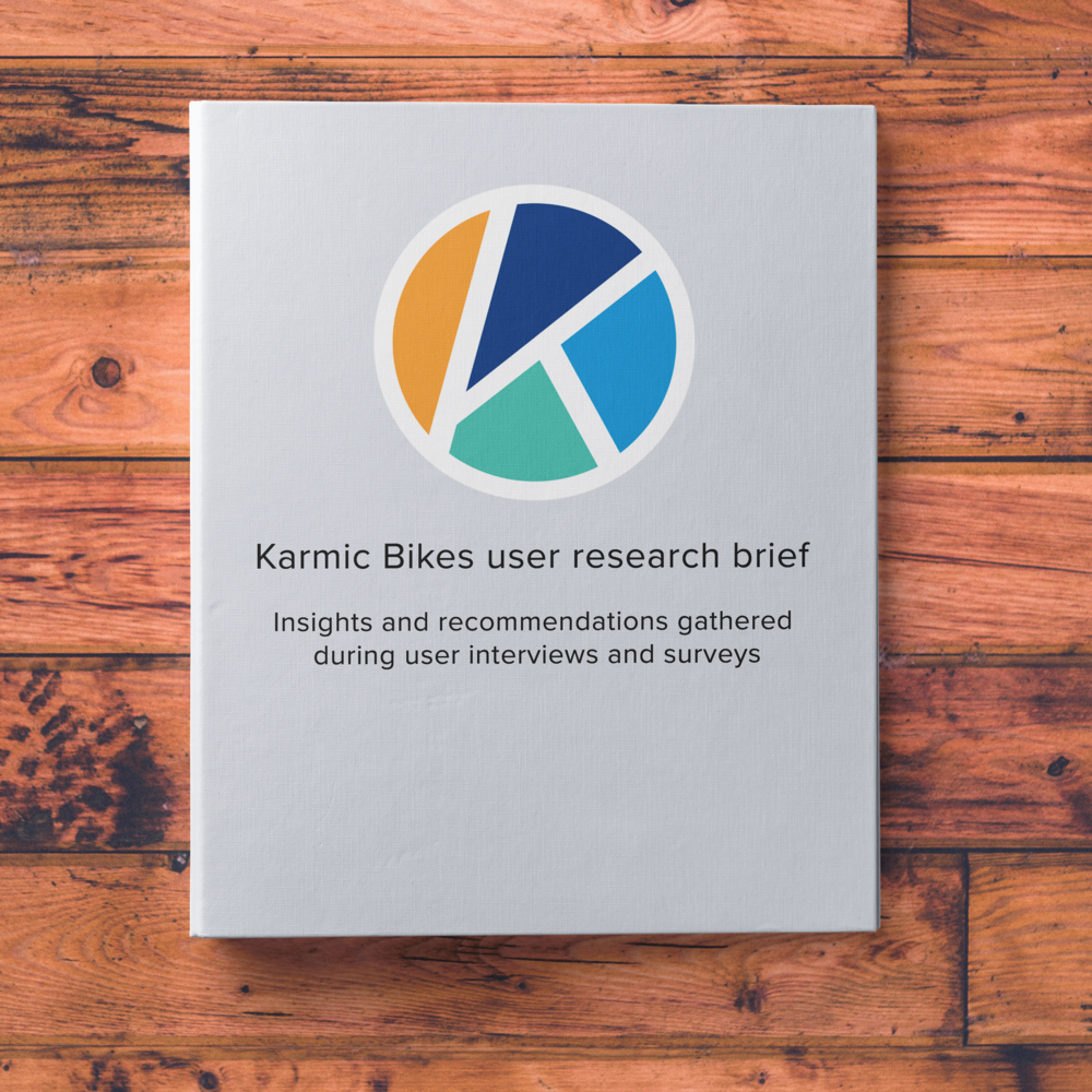 Identifying experiences that drive revenue - I conducted research to understand the elements of the user experience that inspire people to buy expensive niche items online for Karmic bikes, an e-bike company in California .