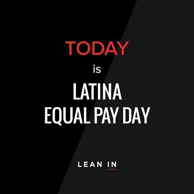 Back in April, we pledged our support for economic gender parity and partnered with @leaninorg to highlight the pay gap among men and women.  Women on average are paid 20% less than men, and if you break the pay gap down by race and ethnicity, it is even worse: Black women are paid 31% less, and Latinas are paid 46% less. Today, we participate by offering 46% more when you purchase a gift card of $45 (you pay $45 and get $65). Share this post with your friends, and start the conversation and effort toward uncontested gender parity. Comment to get the promo code! . . . . . #LatinaEqualPayDay #LinkinBio #LeanIn #FemaleEmpowerment #TheFutureisFemale #Girlboss #46Percent #FaceLove #LatinaMade #LatinaFounder