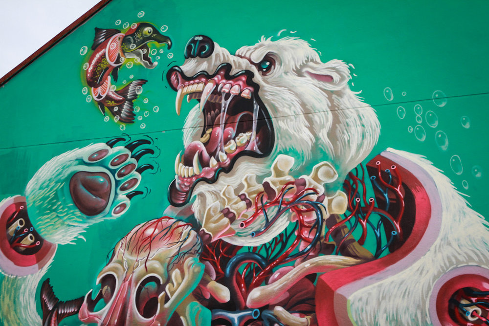 NYCHOS = 500k followers. Wall = 600k   daily   passersby