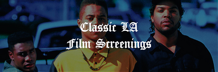 We're teaming up with a well-known local film screening host for a weekly showtime featuring LA's most historic movies.