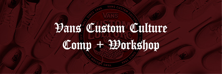 Think Tank has 10 years in the custom sneaker game. Join the best customizers in the world for a Custom Culture event with Vans.