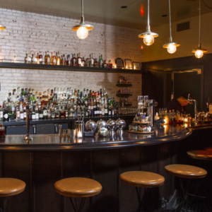 Bar Normandie (Los Angeles) via Kellie Patry Design and Proprietors LLC