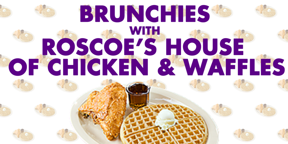 The morning after opening, we're hosting a wake and bake brunch with Roscoe's and weed mimosas.