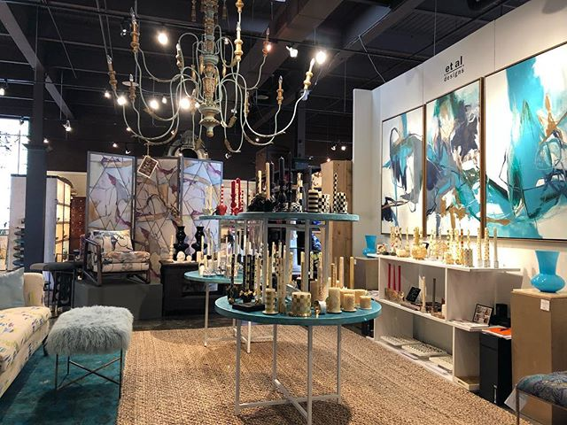 My home for the next week come see us @design_legacy showroom 126 Virginia Place #hp #hpmkt #homedecor #interiordesign #design #style #home #chic #interior #decor #blogger