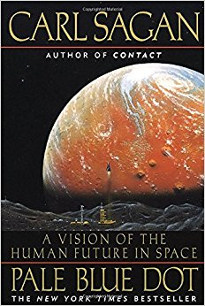 """In Carl Sagan's book  Pale Blue Dot , he argued that humans evolved a love for exploration as an essential part of our survival as a species. It was this evolutionary trait which compelled our hunter-gather ancestors to leave their home—Africa—when times were getting rough and to meander across the planet. As planetary catastrophes become increasingly likely as time rolls by, Sagan argues that this same """"survival strategy"""" will perhaps compell humanity to colonize the solar system, and beyond."""