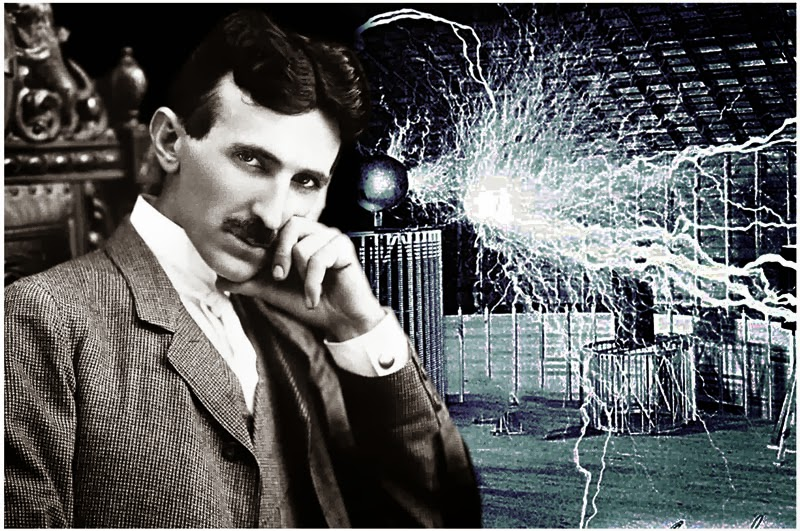 Image above portrays Nikola Tesla, the famous inventor who first conceived of the notion of orbital rings in the 1870s shortly after recovering from malaria.