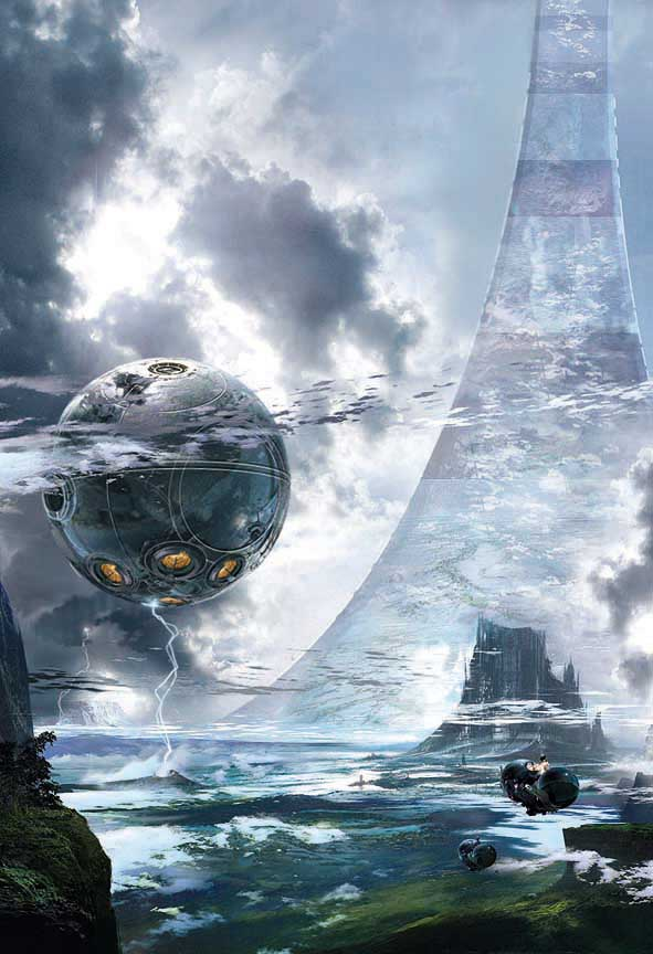Larry Niven's Ringworld. Image credit: https://bargainbin4u.wordpress.com/2008/07/14/ringworld-by-larry-niven/