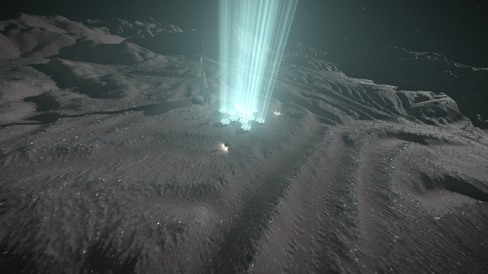 Kuiper Belt Laser Array
