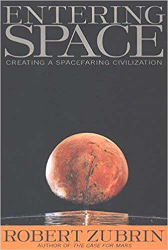 Robert Zubrin's book, Entering Space, covers topics ranging from colonizing Mars and the solar system and explores the feasibility of interstellar travel with known physics.\(^{[1]}\)