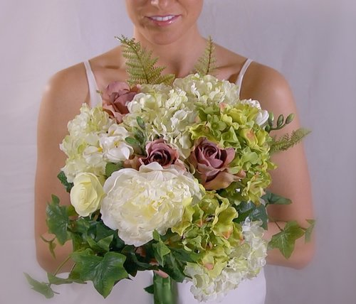 House of penney silk flowers or fresh why not do both silk flowers can be a practical option for florals that are worn all day and night or are in the hot ontario sun for mightylinksfo