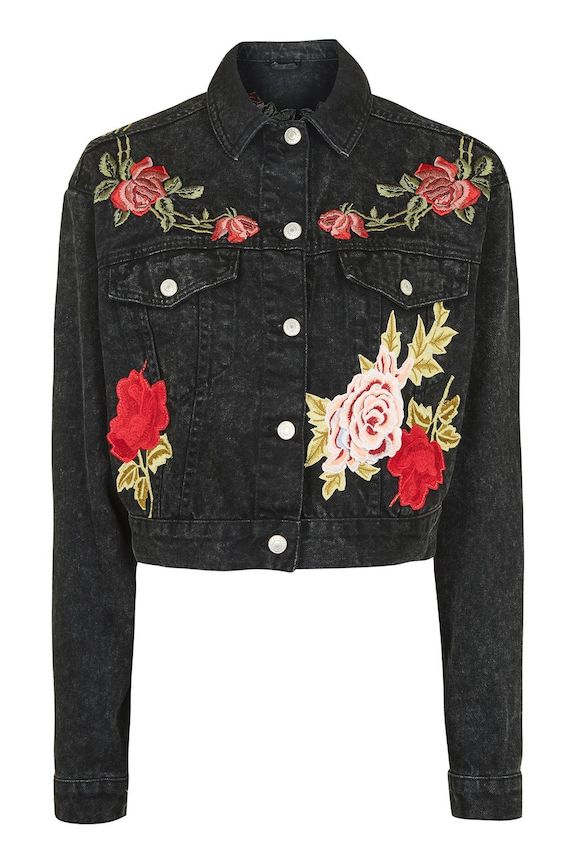 57e3263d Currently Coveting: Denim Jacket With A Twist — the small-ist