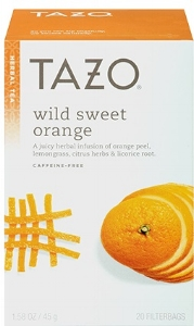 tazo wild sweet orange office service Portland OR