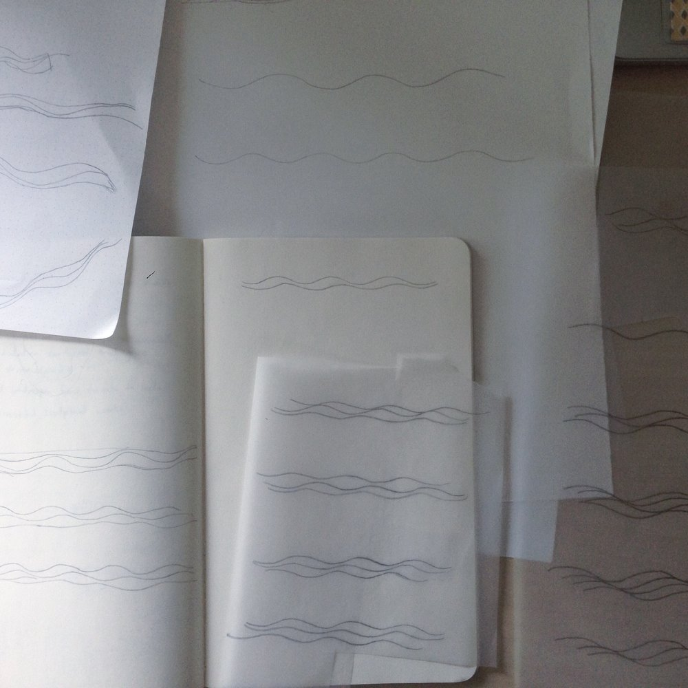 Wave pattern sketches