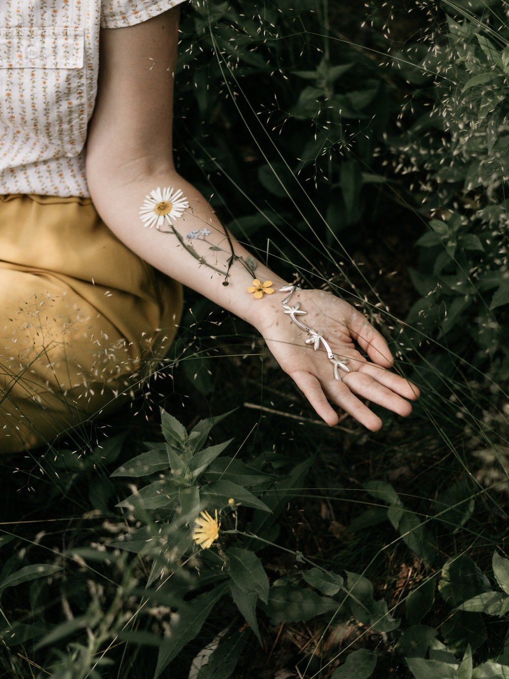 Daisy Chain Bracelet   Shop Here
