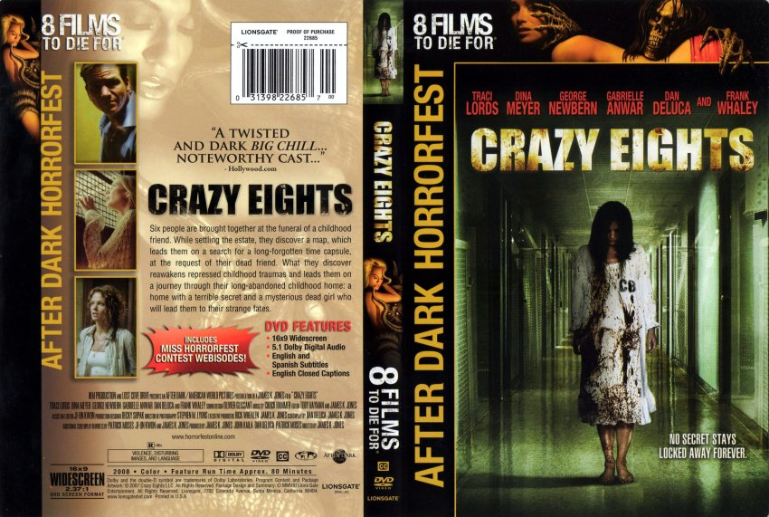 Crazy Eights - Horror Film Scenic Art & Set Painting