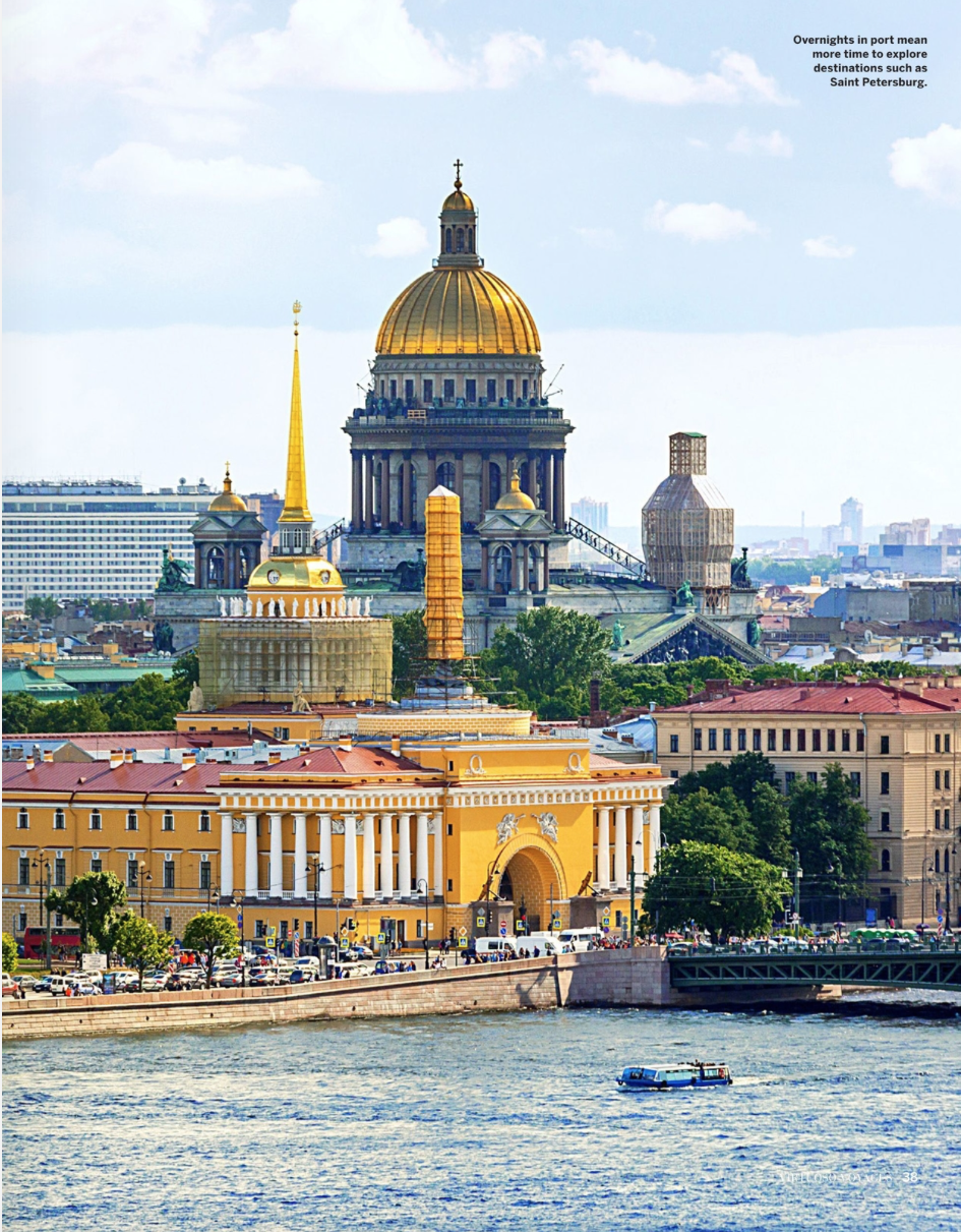 Cruising Myths Debunked - Virtuoso Ideas Book 2018 - Saint Petersburg