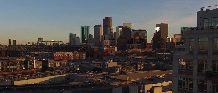 Flour Mill Lofts Denver flour mill lofts — air vision drone imagery