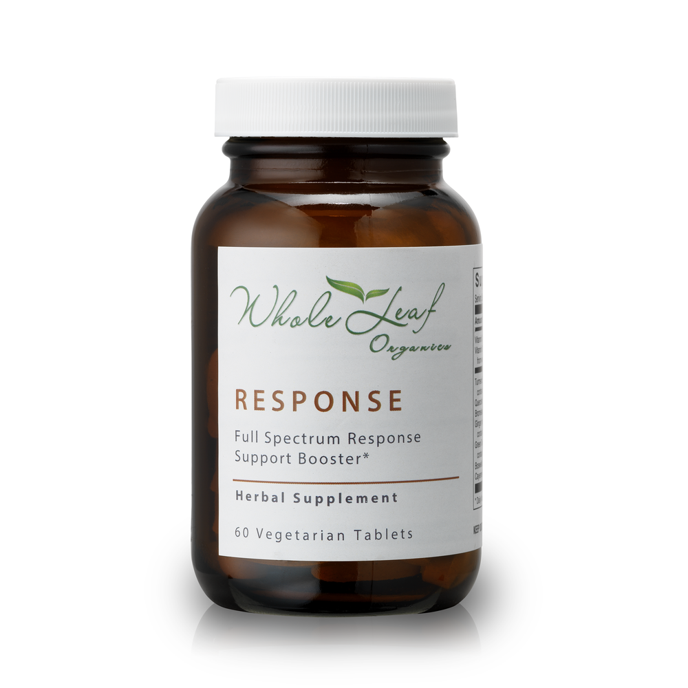 Response  Formulated containing pharmaceutical grade curcumin, our response booster helps to reduce pain and soreness.