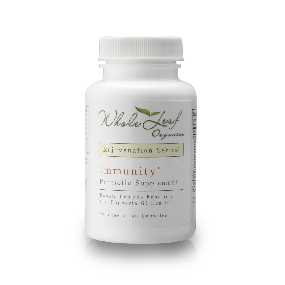 Immunity  Full spectrum probiotic that works to rebalance gut flora. Our revolutionary probiotic blend works to target yeast, fungus, and overgrowth, rebalancing the immune system.  Usage: Take 1 capsule morning and night with water.