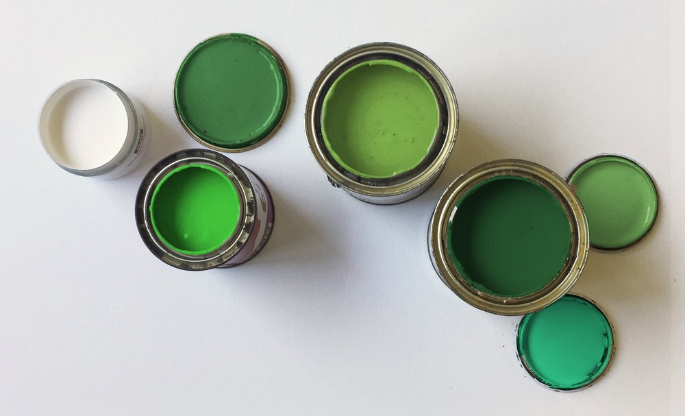 Gorgeous green paint ideas for interiors, exteriors and beyond! Check out our faves below.
