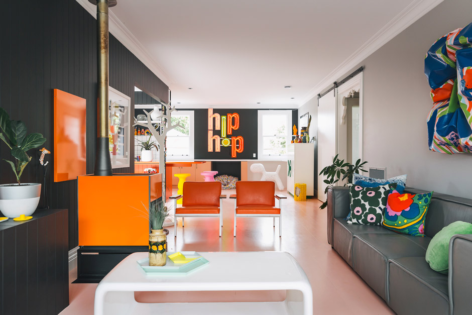 Colourspiration starts here! Alex Fulton's amazing house of colour. Image: Homestyle NZ Photographer Duncan Innes