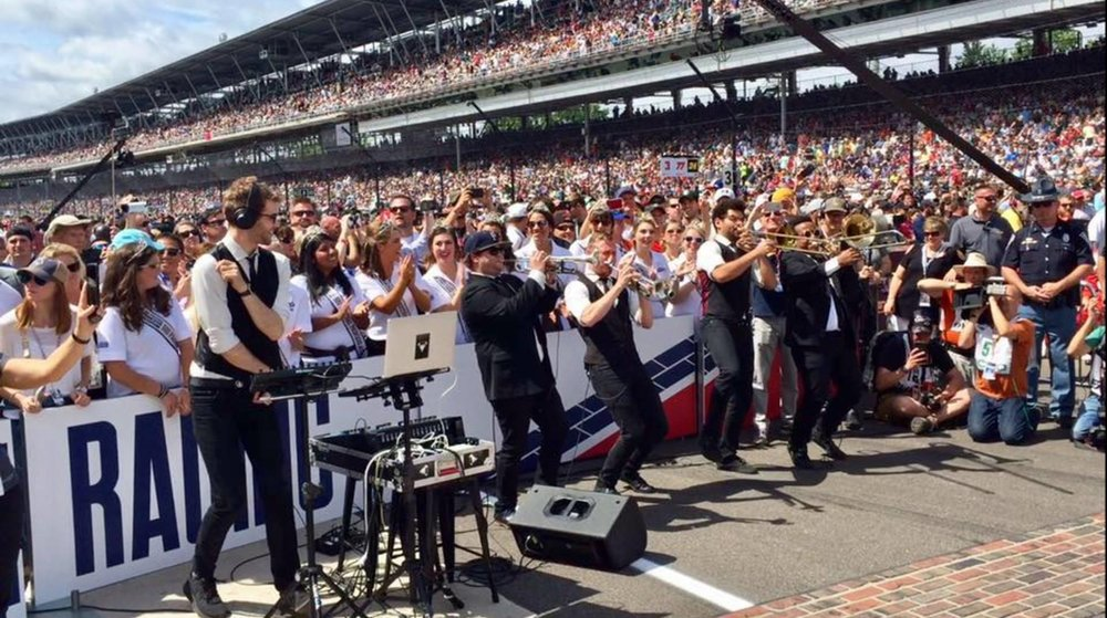 Beauty Slap at the Indianapolis Motor Speedway for the 101st running of the Indy 500