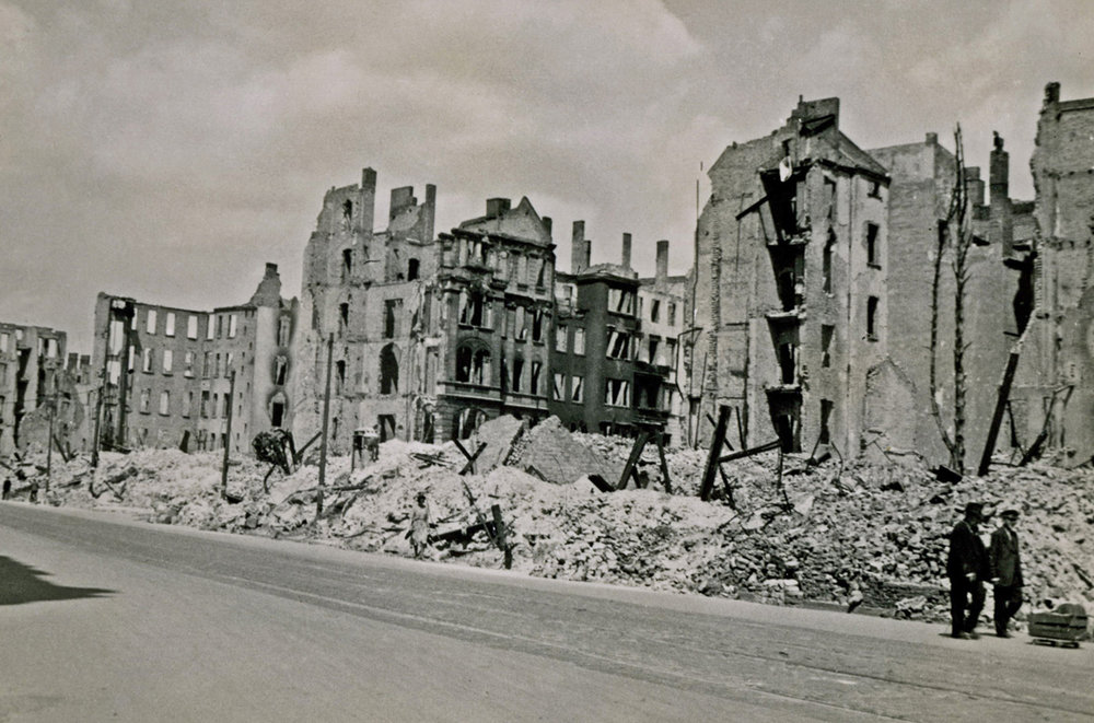 Berlin toward the end of WWII
