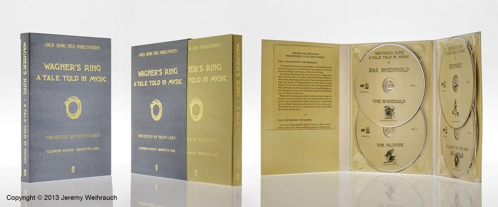 Wagner's Ring - A Tale Told in Music four DVD Box Set