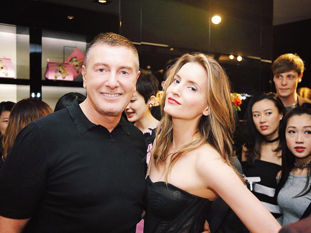 Stefano Gabbana, Kelly England