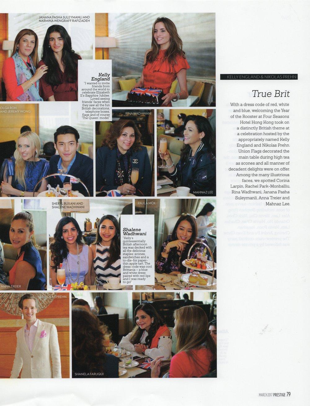 Prestige Magazine Story