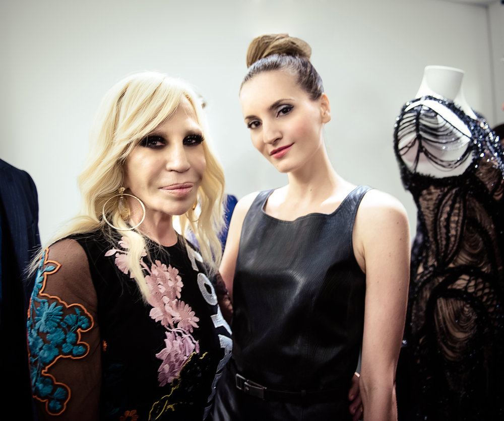 Donatella Versace, Kelly England