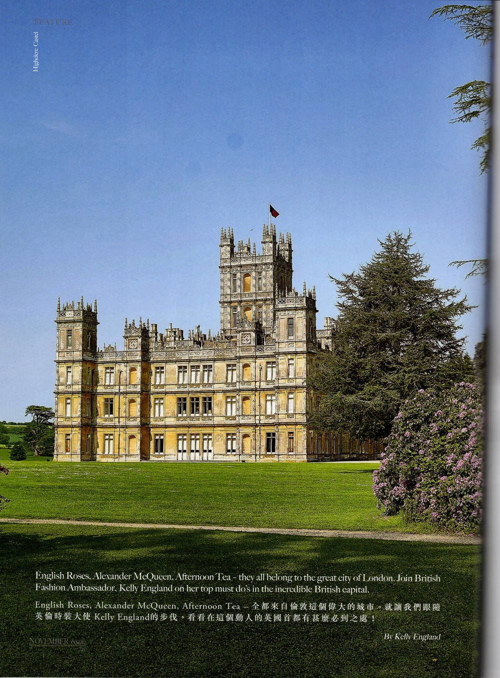 Downton Abbey Editorial