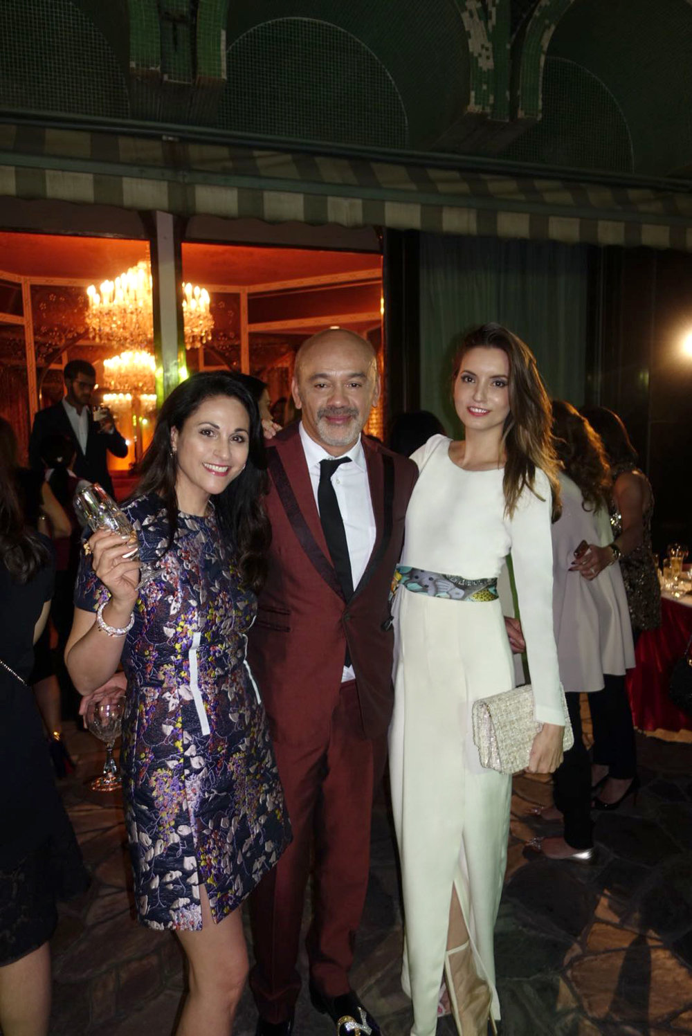 Mahnaz Lee & Christian Louboutin